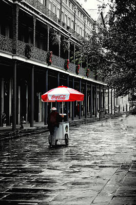 French Quarter Solitude...... Art Print