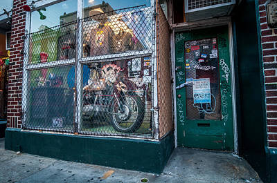Photograph - French Quarter Storefront by Andy Crawford