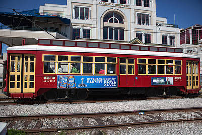 Photograph - French Quarter Trolley by Kay Pickens