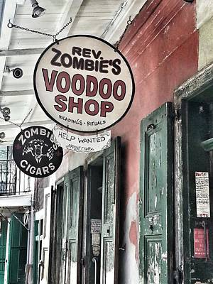 French Quarter Voodoo Shop Art Print by Mike Barch