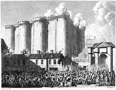 French Revolution, 1817 Art Print