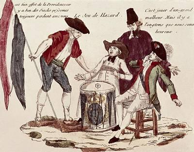French Revolution. Le Jeu De Hazard The Art Print