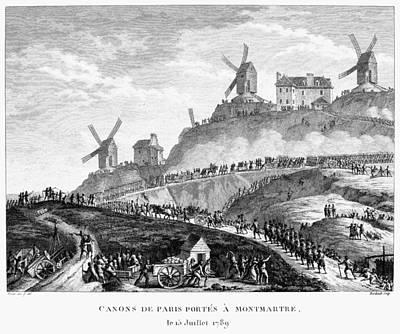 French Revolution Paris Art Print