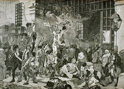 1789 Photograph - French Revolution by Prisma Archivo