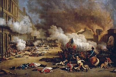 French Revolution. Take Art Print