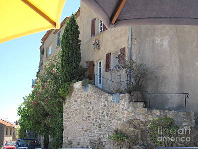 French Riviera - Ramatuelle Art Print