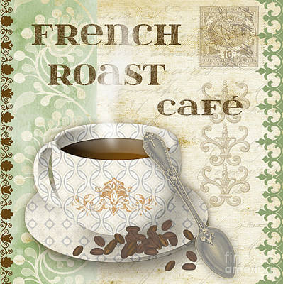 French Roast-jp2255-green Original by Jean Plout