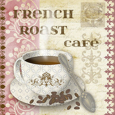 French Roast-jp2255-pink Original by Jean Plout
