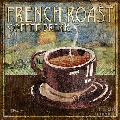 Wall Art - Painting - French Roast by Paul Brent