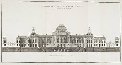 Louis Xv Photograph - French Royal Palace by British Library