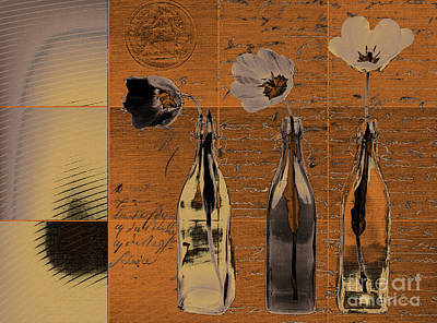 Still Life Digital Art - French Still Life  - A60 by Variance Collections