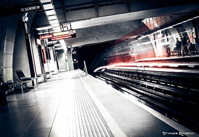 Photograph - The Nuclear Train by Stwayne Keubrick