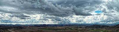 Photograph - French Valley - California Panoramic by Glenn McCarthy Art and Photography