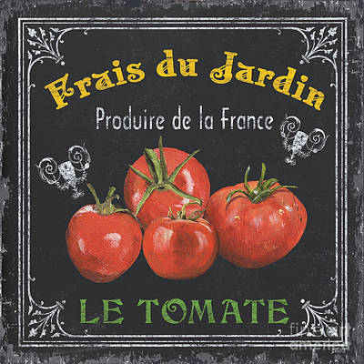Food And Beverage Royalty-Free and Rights-Managed Images - French Vegetables 1 by Debbie DeWitt