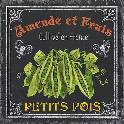 Eat Painting - French Vegetables 2 by Debbie DeWitt