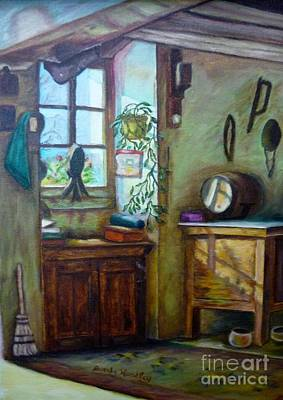 French Work Room Original by Beverly Hanni