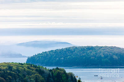 Photograph - Frenchman Bay Fog by Susan Cole Kelly