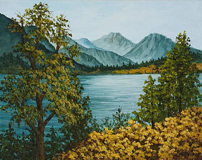 Painting - Frenchmans Lake by Darice Machel McGuire