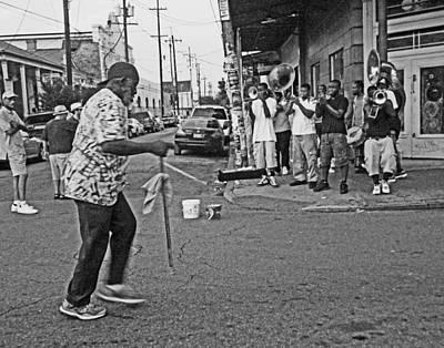 Sousaphone Wall Art - Photograph - Frenchmen Street New Orleans by Louis Maistros