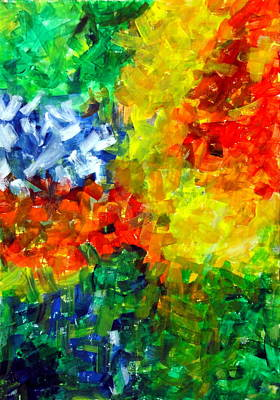 Painting - Frenzy by Tanya Anurag
