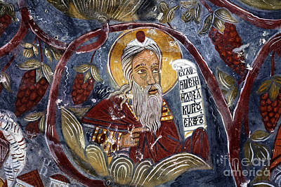 Religious Art Photograph - Fresco At The Sumela Monastery Turkey by Robert Preston