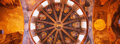 Savior Photograph - Frescos In A Church, Kariye Museum by Panoramic Images