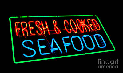 Photograph - Fresh And Cooked Seafood by Olivier Le Queinec