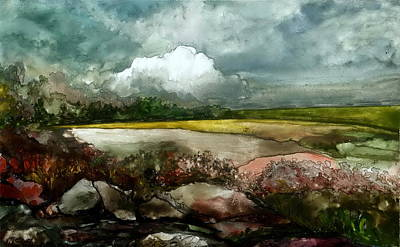 Fresh And Wet Original by Mikhail Savchenko