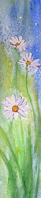 Painting - Fresh As A Daisy 1. by Elvira Ingram
