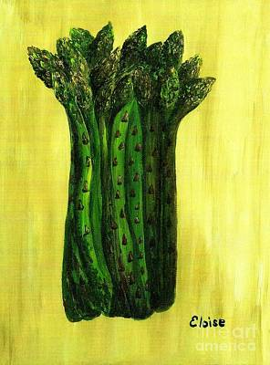 Room Painting - Fresh Asparagus by Eloise Schneider