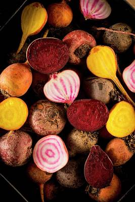 Onion Photograph - Fresh Beetroot And Red Onions by Aberration Films Ltd