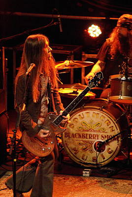 Photograph - Fresh Blackberry Smoke From The Guitar Of Charlie Starr by Ben Upham