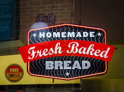 Photograph - Fresh Bread by Carolyn Marshall