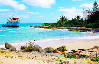 Barbados Photograph - Fresh Creek Beach by Carey Chen