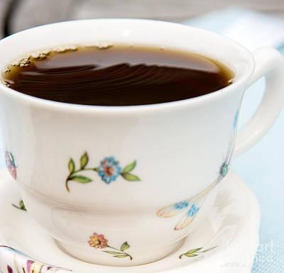 Fresh Cup Of Coffee Art Print
