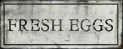 Fresh Eggs Painting - Fresh Eggs by Aubree Perrenoud