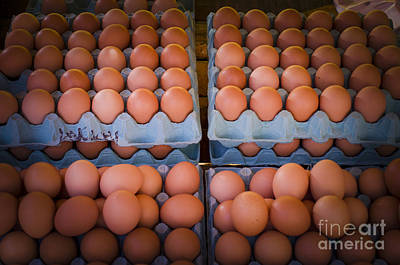 Photograph - Fresh Eggs On A Street Fair In Brazil by Ricardo Lisboa