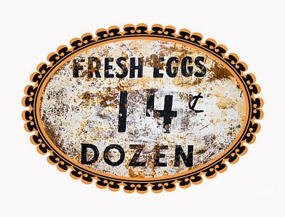 Photograph - Fresh Eggs by Paul Mashburn