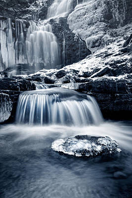 Knaresborough Photograph - Fresh Falls At Scaleber Force by Chris Frost