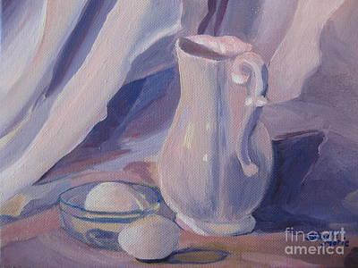 Painting - Fresh Farm Eggs by Stella Sherman