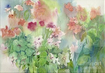 Painting - Fresh Flowers by Donna Acheson-Juillet