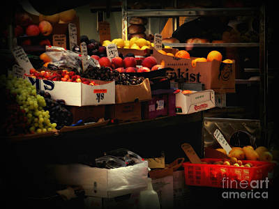 Photograph - Fresh Fruit For Sale by Miriam Danar
