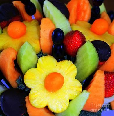 Cantaloupe Photograph - Fresh Fruit by Kathleen Struckle