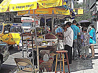 Fresh Fruit Art Print by Miriam Danar