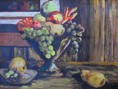 Sara Habecker Folk Print - Fresh Fruit by Ashley Goforth