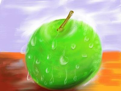 Painting - Fresh Fruit by Twinfinger