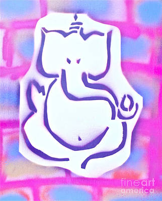 Free Speech Painting - Fresh Ganesh 3 by Tony B Conscious
