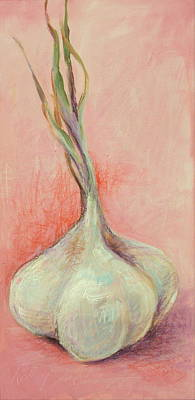 Painting - Fresh Garlic by Kelley Smith