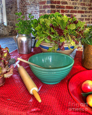 Photograph - Fresh Greens by Kathy Baccari