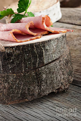 Fresh Ham Art Print by Mythja  Photography